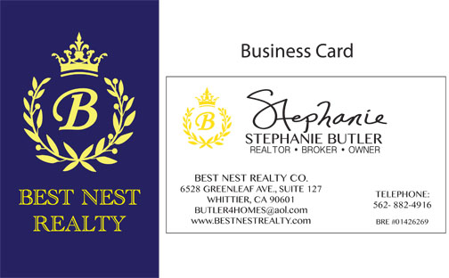 Revised Sept 26, Stephanie, Business card BACK, ADD REALTY